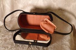 1940s Romay Black Suede purse (6)