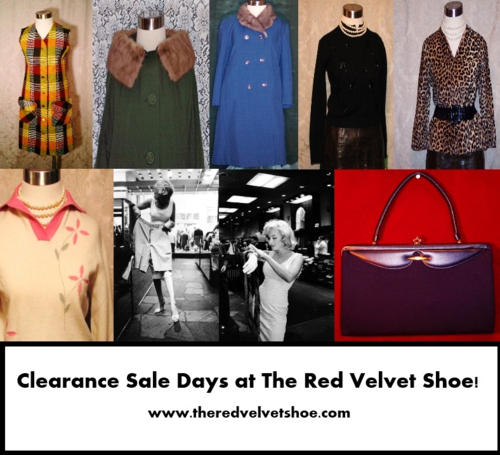 Clearance Sale at the red velvet shoe