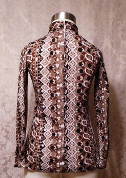 1960s Saks Fifth Avenue Pucci-esque tunic top (3)