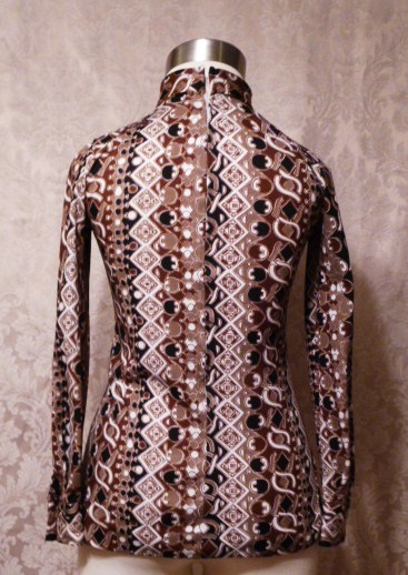 1960s Saks Fifth Avenue Pucci-esque tunic top (3)