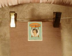 1920s vintage Lady Grace Durene Mercerized Cotton 260 Needle Stockings 003