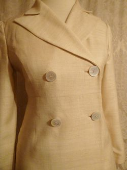 Cose Belle Shannon McLean Designs linen dress coat (4)