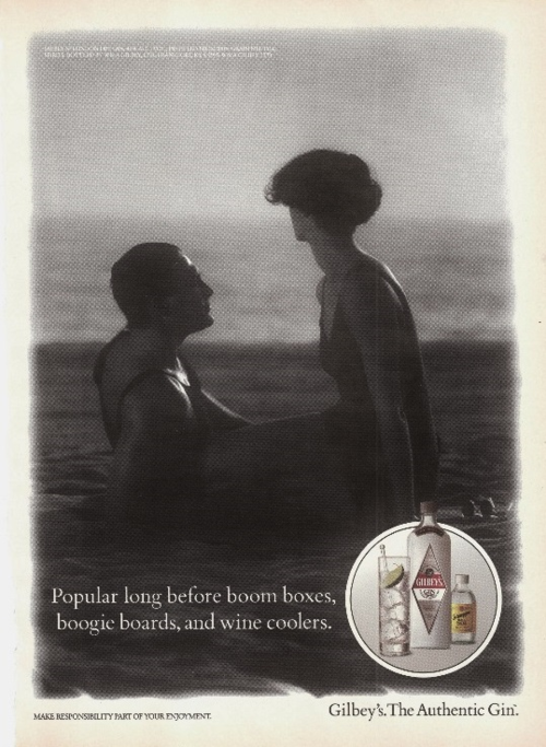 May 1992 Gilbey's Gin ad Victoria Magazine
