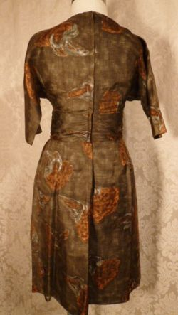 1950s Abe Schrader dress (4)