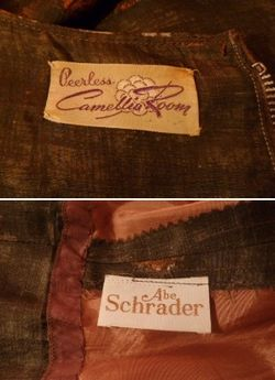 Abe schrader dress label