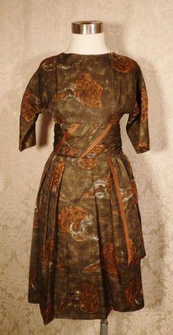 1950s Abe Schrader dress (1)