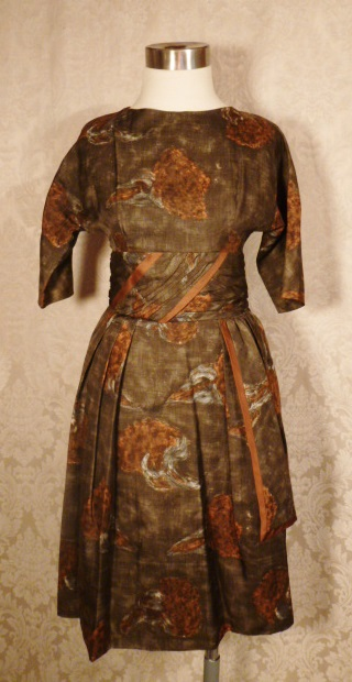 1950s Abe Schrader dress (1)
