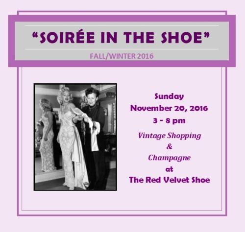 Fall 2016 Soiree The Red Velvet Shoe Vintage