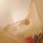 1930s Crepe Chiffon Floral Tea Gown Vintage Dress (9)