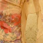 1930s Crepe Chiffon Floral Tea Gown Vintage Dress (11)