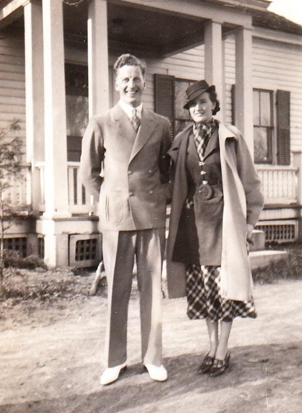 1936 Gram & Gramp year before wedding - Copy