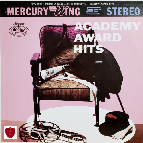 Academy Award Hits LP Album Mercury Wing Cover