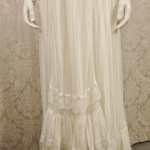 Vintage 1970's Gunne Sax by Jessica McClintock High Neck Ivory Lace Victorian Style Lawn Party Wedding Dress (5)