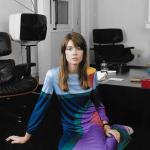 Francoise hardy in vintage louis feraud dress 1970