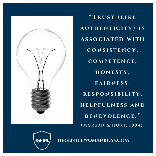 Authenticity quote