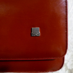 Vintage 1970s Lanvin Paris shoulder bag cross body purse maroon red  (6)