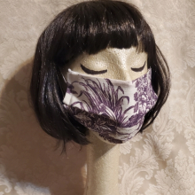 Made in USA Face Masks The Red Velvet Shoe Vintage Laura Ashley Purple Plum Toile (1) (470x640)