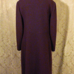 Vintage 1980's Plum Purple Wool Coat by Bromleigh (4)