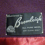 Vintage 1980's Plum Purple Wool Coat by Bromleigh (7)