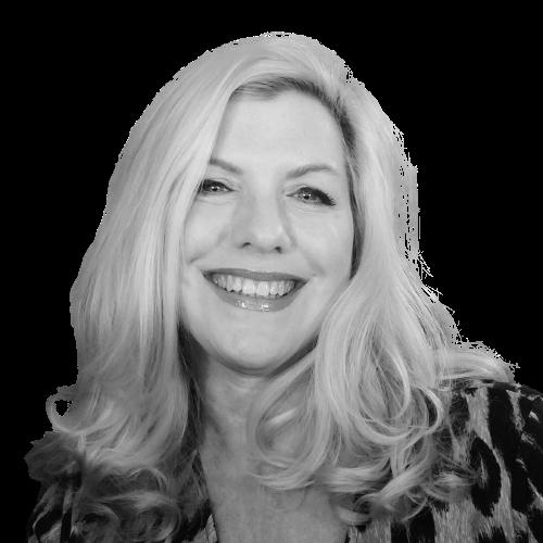 Michelle horlbogen the gentlewoman boss podcast headshot black & white