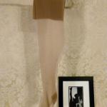 Vintage 1950s fully fashioned 100% nylon seamless stockings Gladding's Providence RI original box (8)