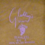 Vintage 1950s fully fashioned 100% nylon seamless stockings Gladding's Providence RI original box (5)