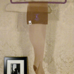 Vintage 1950s fully fashioned 100% nylon seamless stockings Gladding's Providence RI original box (9)