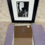 Vintage 1950s fully fashioned 100% nylon seamless stockings Gladding's Providence RI original box (3)