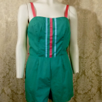 Vintage 1960's70's Vintage PlaySuit  Sunsuit  Romper by Sea Waves  (9)