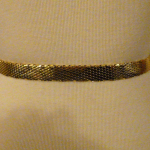 Vintage Whiting & Davis Western Style Gold Snake Scale Mesh Belt (3)